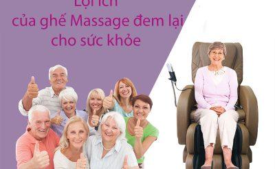 Top 5 lợi ích của ghế massage đối với sức khoẻ người sử dụng